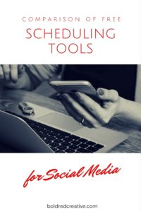 Comparison of Social Media Scheduling Tools