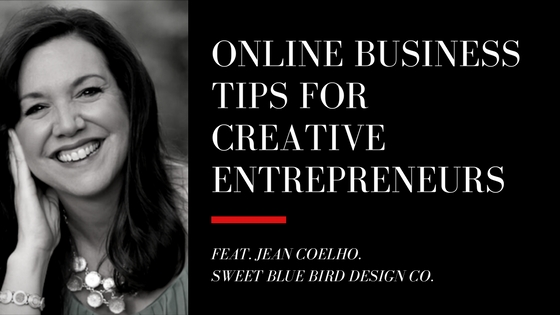 Interview with Jean Coelho about online business tips for creatives